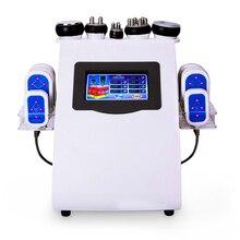 Láser Lipo 6 en 1 + cavitación + RF + vacío/RF 40K, lipoláser de cavitación, máquina adelgazante para pérdida de peso corporal