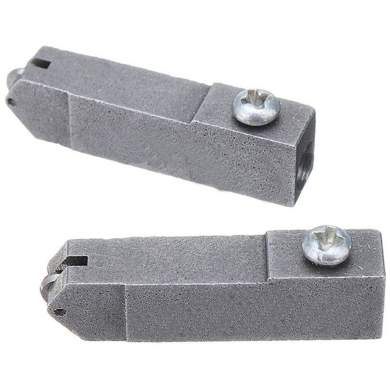 2pcs New TC-10 Alloy Replacement Stained Glass Straight Cutting Replacement Tile Cutter Head For 2-8mm Glass Shape Cutting