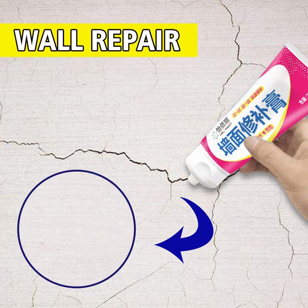 Wall Repair White Wall Plaster Wall Repair Cream Mildew Crack Nail Eye Repair Cream Wall Crack Repair White Interior Wall Paint