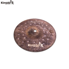 Kingdo B20 100% handmade New collection Dry series 10 splash cymbal for drums set cymbal set arborea cymbal gravity 14hi hat cymbal for drums