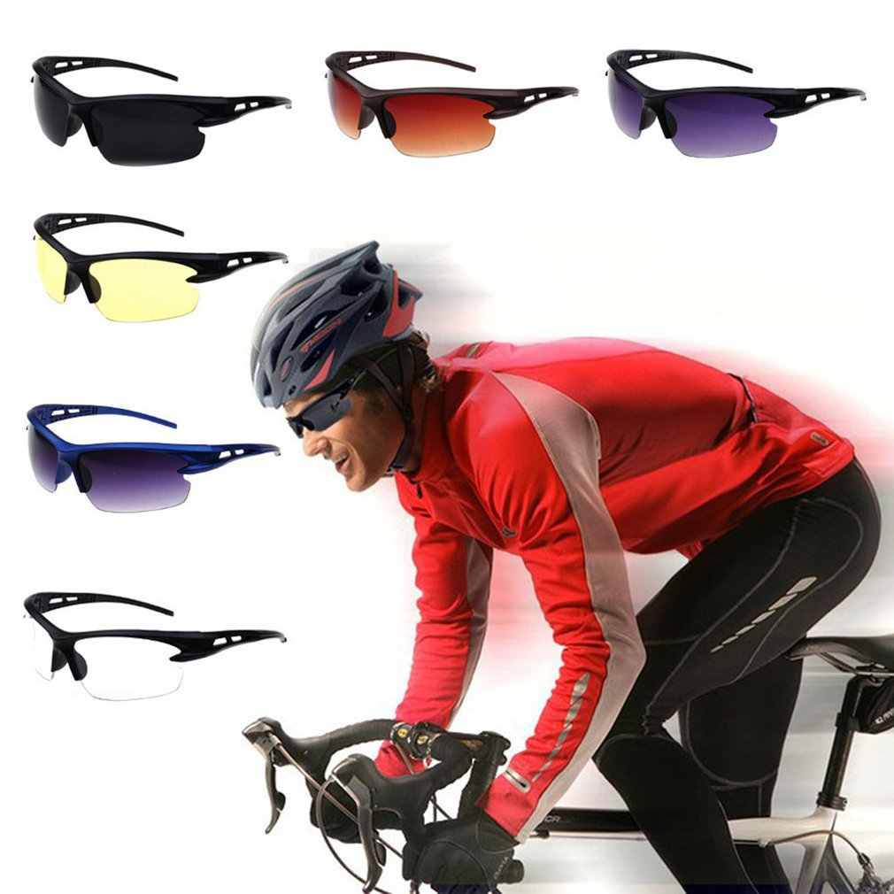 UV400 Sunglasses Fishing Eyewear Driving Cycling Sunglasses Explosion Proof Pesca Sports Outdoor Eyeglasses