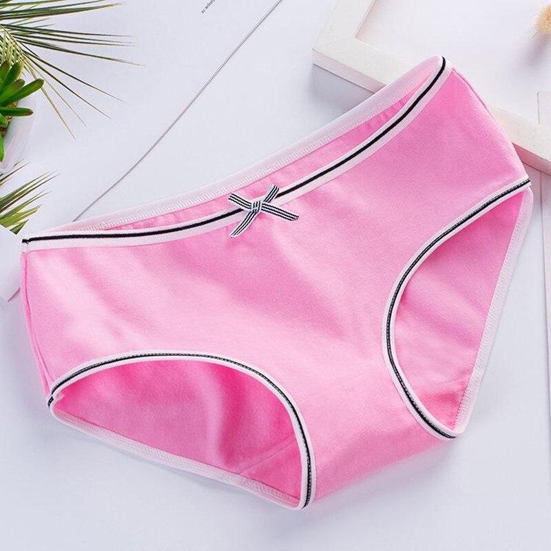 4pcs/Lot Girls Panties Lace Underwear for Teens 12-18 Years Children Cotton Lingerie Underpants 3