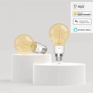 Image 2 - الأصلي yeelight الذكية LED خيوط لمبة YLDP22YL 500 لومينز 6 واط الليمون الذكية لمبة العمل ل أبل homekit