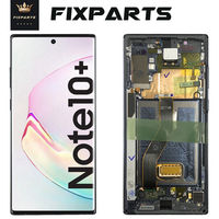 For 6.8 Samsung Galaxy NOTE 10 Plus N975 N975F LCD Display Touch Screen Digitizer Assembly DS For SAMSUNG NOTE 10 + N9750 LCD