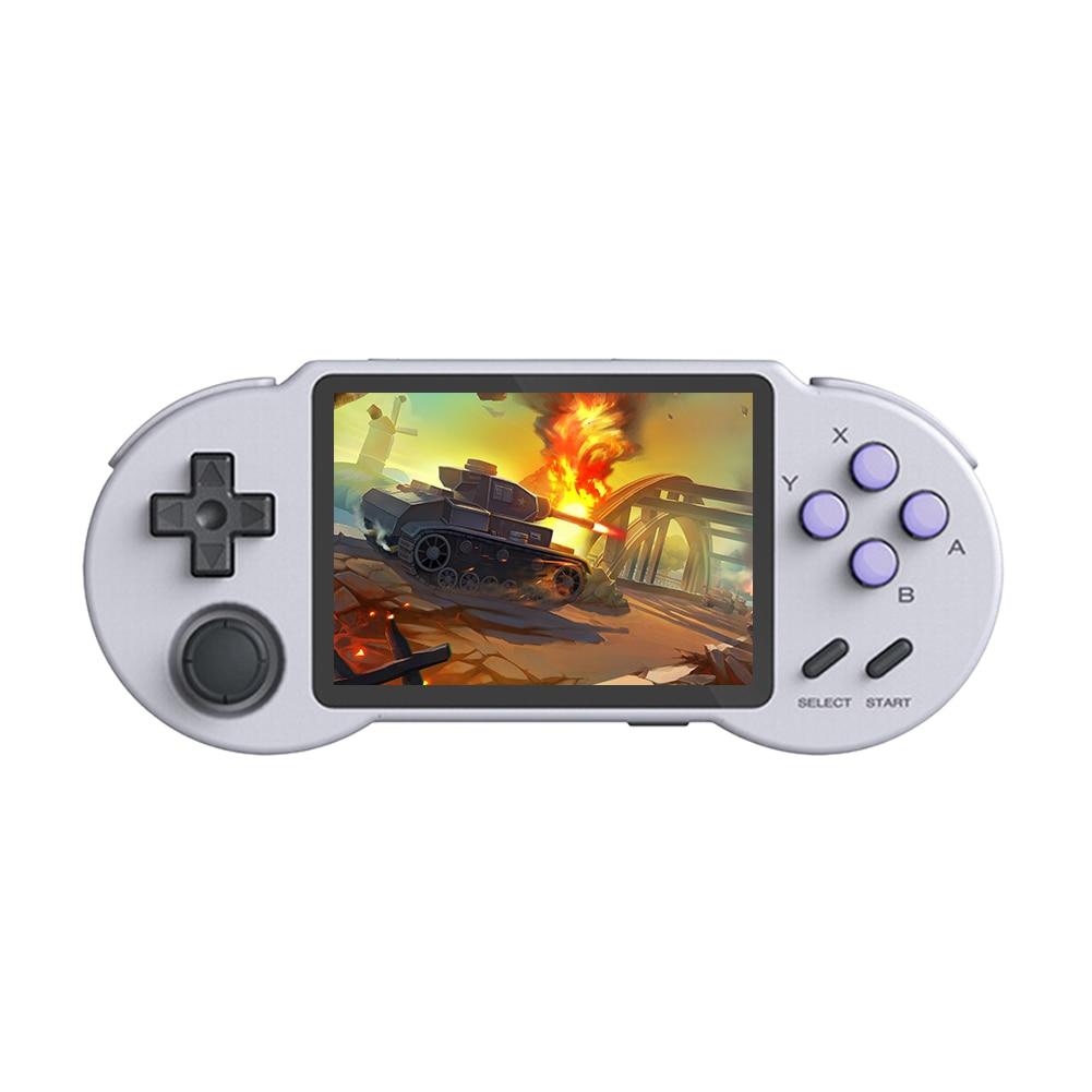 Pocketgo handheld jogo jogador 32g 3000 jogos retro console clássico para gb/gbc//ps/md caixa de console de jogos crianças presentes jogadores