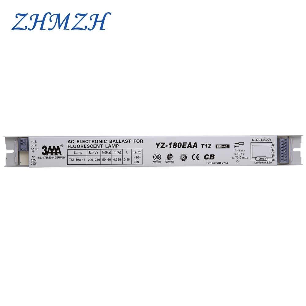 3AAA YZ-180EAA 220-240 в 80 Вт T12 AC электронные балласты 80 Вт Выпрямитель тока для T12 УФ-трубки ультрафиолетовые лампы люминесцентные лампы