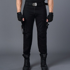 Image 5 - CARGO PANTS Overalls Male Mens Army Clothing TACTICAL PANTS MILITARY Work Many Pocket Combat Army Style Men Straight Trousers