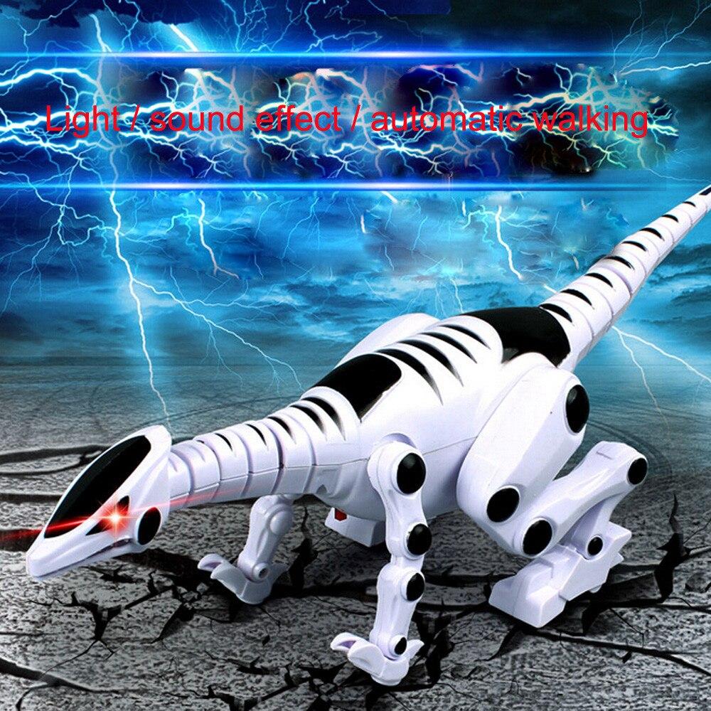 Intelligent Interactive Smart Toy Dinosaur Robot Remote Toys Gift + Sound Light