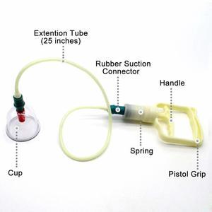 Image 3 - 12/24 peças de vácuo cupping corpo massageador ventosas conjunto frasco plástico terapia sucção a vácuo cupping conjunto latas para massagem
