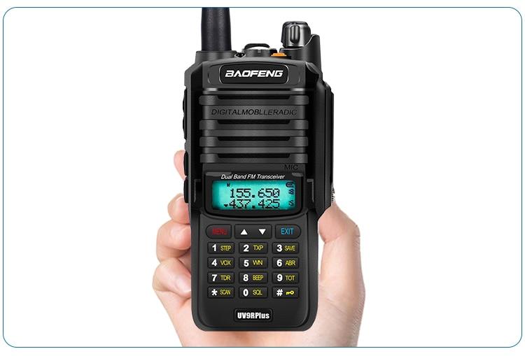 Clearance SaleBaofeng Vhf Uhf Radio-Station Walkie-Talkie Ham-Radio Uv9r Long-Range CB 10W 50km IP68