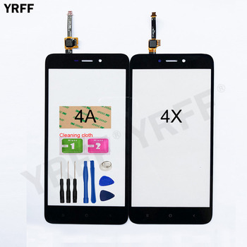 5.0'' Touch screen For Xiaomi Redmi 4A 4X Touch Screen Digitizer Sensor Glass Panel Replacement