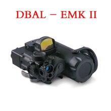 Страйкбол тактическое оружие фонарик DBAL-MKII ИК лазерный светодиодный фонарь Многофункциональный Softair DBAL-D2 фонари Красный лазер DBAL-A2 EX328