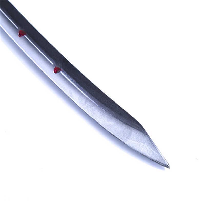 Overwatchs OW Genji spiriti maligni giochi Cosplay DELL'UNITÀ di elaborazione lama del coltello Spada arma giapponese katana Cosplay Puntelli spedizione gratuita