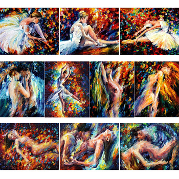 Sexy Couple Abstract Dropshipping Painting By Numbers DIY Figure Wall Art Picture Acrylic Canvas Painting For Wedding Decoration rihe garden flower diy painting by numbers abstract house oil painting on canvas cuadros decoracion acrylic wall picture art