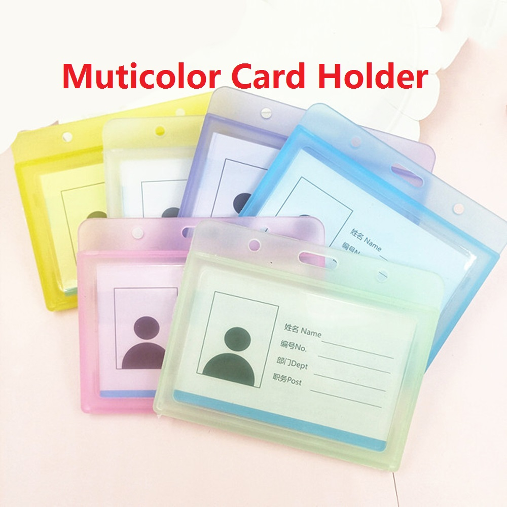 Scrub Doctor School Office Work Name Card Holders Supplies Badge Cases Card Holders ID Holders Card Accessories Business Case