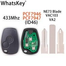 Whatsapkey Автомобильный Дистанционный ключ подходит для renault