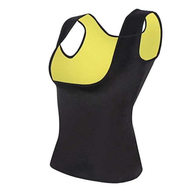 Women Slimming Belly Belt Corset Neoprene Sauna Vest Sweat Shirt Shapewear