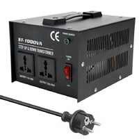 ST-1000W usage domestique Intelligent efficace abaisseur transformateur 100 V-220 V convertisseur de tension d'appareil électrique domestique
