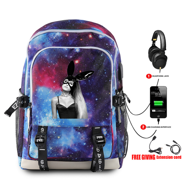 ARIANA GRANDE THEMED BACKPACK (20 VARIAN)