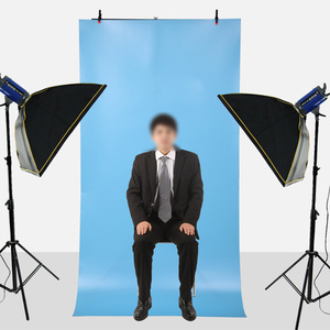 Image 5 - Fotografia PVC Background Supporto Del Basamento del Metallo del Sistema Sfondi Supporto Per Photo Studio Con 2 Morsetti 100*200 CENTIMETRI