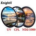 Поляризатор для объектива камеры KnightX FLD UV CPL, фильтр объектива для canon d5300 500d 400d sony nikon, Аксессуары для фотографии 52 мм 58 мм 67 мм