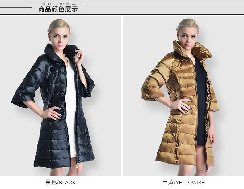 2019 2019 Zipper Warm Winter Coat Women Jacket Black Burgundy Jassen Dames Turtleneck Slim Winter Long Coat Ladies Clothes From Roberr, $94.84 |