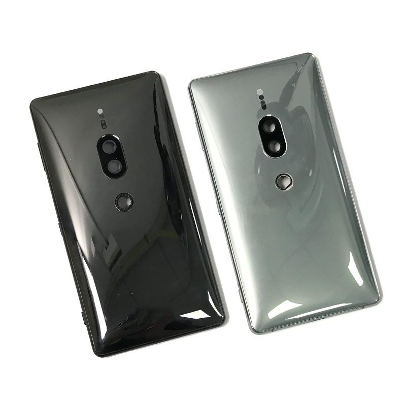 New Rear Battery Back Cover Case For Sony Xperia XZ2 Premium H8166 Dual SIM 4G Housing With Power Volume Button Key
