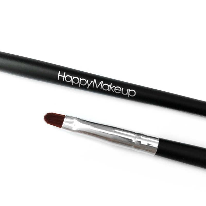 Baru Gagang Kayu Lembut Kosmetik Sikat Lipgloss Lipstik Lip Gloss Kuas MAKEUP SIKAT Riasan Alat untuk Bibir Kecantikan Alat