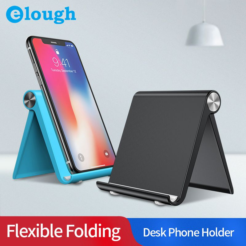 Elough Universal Phone Holder Stand For IPhone 7 Samsung Xiaomi Huawei IPad Tablet Desk Mobile Phone Holder Stand Soporte Movil