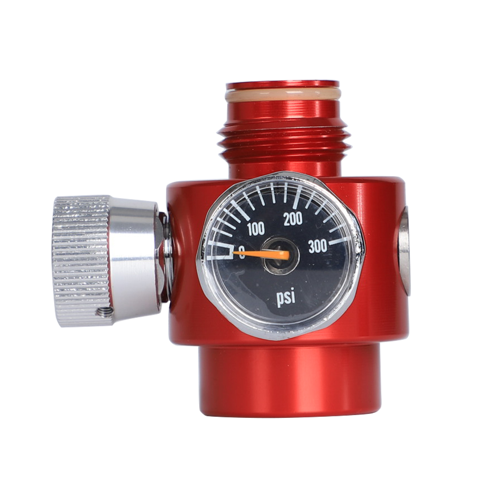 CO2 Tegulator G1/2 Pressure Regulator CO2 Cylinder Valve 0-300PSI Paintball Compress Air / Co2 Adjustable Regulator