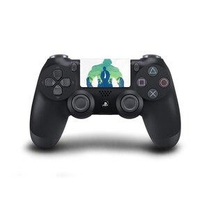 Image 4 - Joker tasarım dokunmatik yüzey PVC vinil cilt kapak PS4 için Playstation Dualshock 4 Pro Slim çıkartma