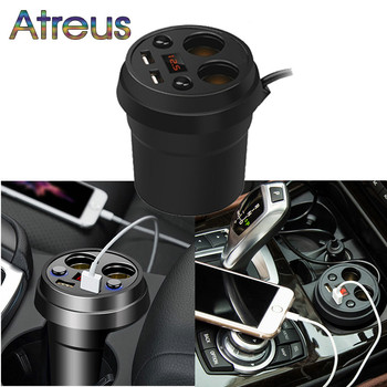 3.1A Multi-function Car Charger Cigarette Lighter For BMW E91 F31 E46 coupe E34 E30 E92 Series 1 E87 X3 E83 F25 X6 X1 F11 F22 image