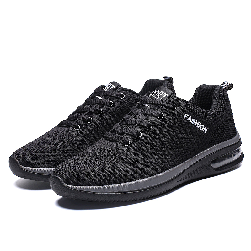 New Style Mesh Men Casual Shoes Lac-up Men Shoes Lightweight Breathable Walking Male Sneakers Tenis Masculino Zapatillas Hombre