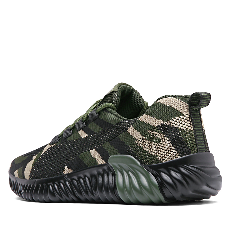 Men Women Sport Running Sneakers Camo Walking Jogging Shoes Couples Athletic Trainers Cheap Men Footwear Comfortable Shoes