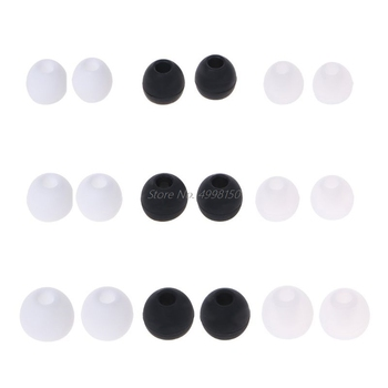 Drop Wholesale 10 Pcs Earplug Protective Cover 4.0mm In-ear Earphone Case for Xiaomi AirDots Youth Version for Airdots Pro TWS image