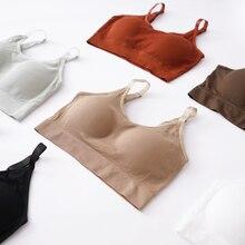 Sexy Bra Underwear Brassiere Wire Push-Up-Bras Bralette Seamless Cotton Women Free