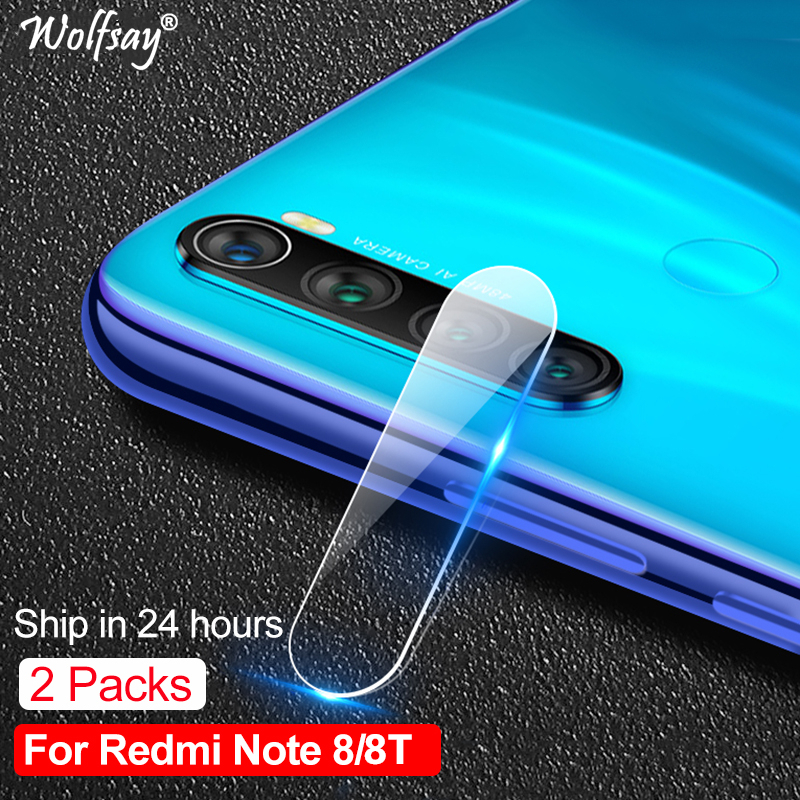 Full Cover Nano Camera Glass For Xiaomi Redmi Note 8T Lens Screen Protector For Redmi Note 8T Tempered Glass Redmi Note 8 T 2PCS