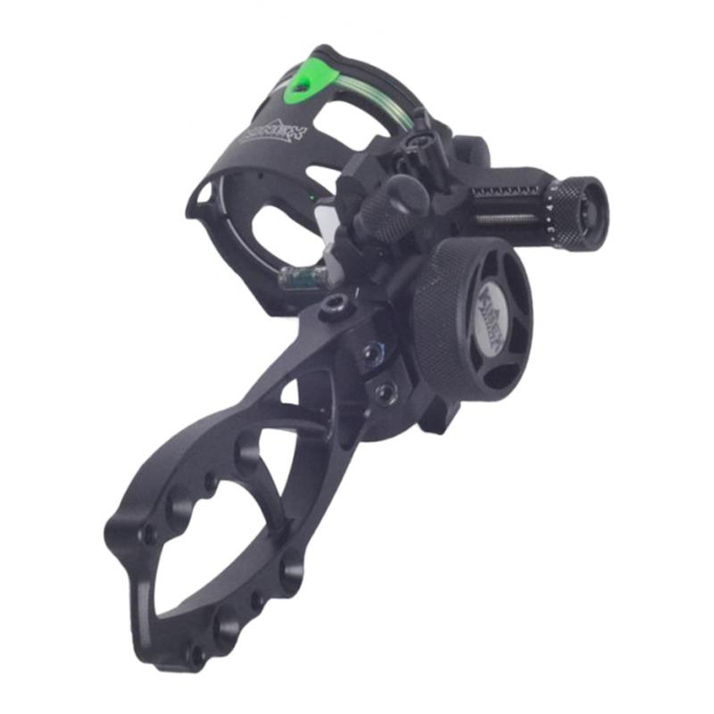 Alloy Archery Bow Sight Single Pin Bracket Single Needle Sight Hunting  Compound Bow Sight Archery Hunting Shooting Accessories