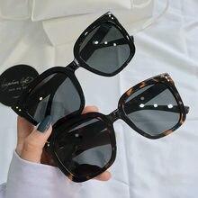 1 pçs retro vintage retângulo óculos de sol feminina marca designer moda óculos de sol máscaras corte lente óculos motorista