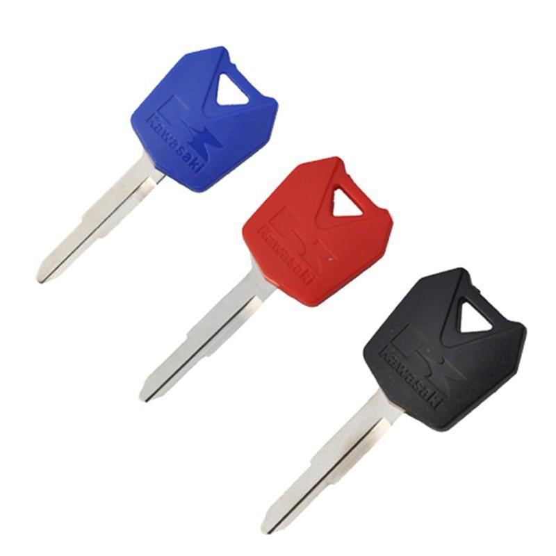 3pcs Lot Motorcycle Blank Key Uncut Blade For ZX6R ZX9R ZX10R ZXR250 ZXR400 ZZR400 ZZR600 ZZR 400 600 And Other