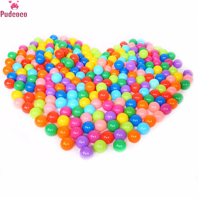 Pudcoco Brand 20Pcs/50Pcs/100PCS Colorful Ball For Baby Kids Soft Plastic Ocean Ball Toys Children Swim Ball Pits Toy