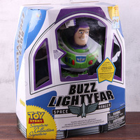 Toy Story Figure Buzz Lightyear Space Ranger Toy Story Action Figure Buzz Lightyear with LED Light Collection Toy