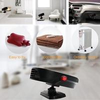 General Car 12V 24V Heater Windshield Truck Car Heat Fan For Vehicle Trucks Home Office Table Fan Heater Heating|Heating & Fans| |  -