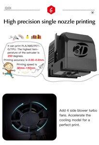 Image 3 - QIDI X MAKER 3D เครื่องพิมพ์การศึกษาเกรด Impresora 3D Drucker ความแม่นยำสูงพิมพ์ขนาด 170 มม.* 150 มม.* 160 MM ABS,PLA,ยืดหยุ่น