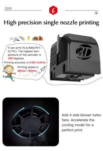 Image 3 - QIDI X MAKER 3D Printer Educational Grade Impresora 3D Drucker High Precision Print size 170mm*150mm*160mm with ABS,PLA,Flexible