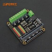DFRobot מיקרו: קצת Microbit נהג נהיגה בקר/הרחבת לוח עם 4 דרך מנוע כונני + 8 דרך סרוו ממשקים עבור ילדים