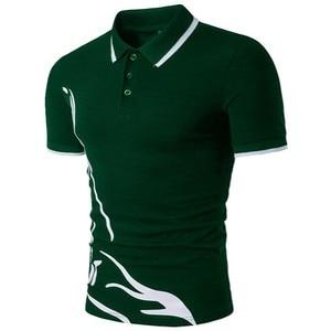 Image 2 - ZOGAA Männer 2019 Sommer Mode Camisa Polo Shirts Hohe Qualität Kurzarm Herren Polo Shirt Marken Atmungsaktiv Marke T Tops