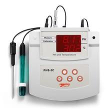PH/Thermometer Digital PH Tester PHS-3C Desktop Automatic Calibration Acidity Meter Laboratory