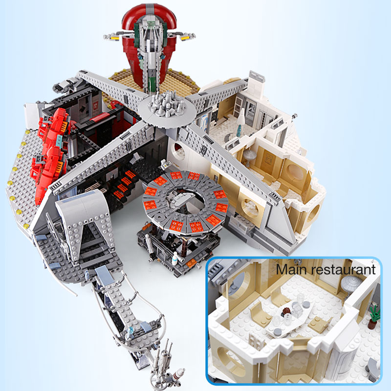 05151 Star Wars Betrayal at Cloud City Building Kit Blocks 3149pcs Bricks Compatible With Legoings Toy for Children 2