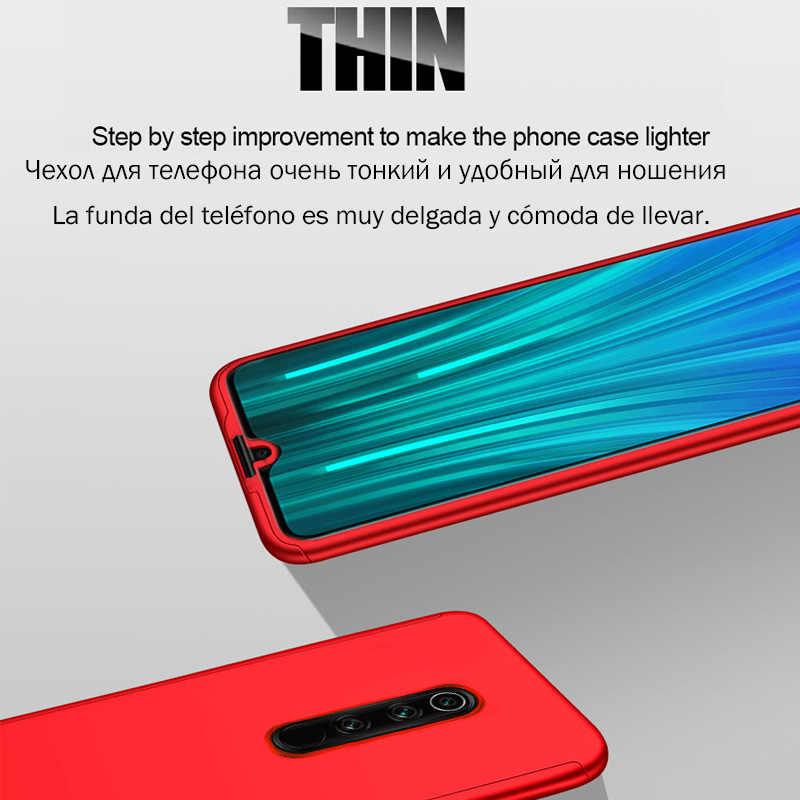 360 耐衝撃ケース Xiaomi Redmi 注 7 8 6 10 プロ K20 7A 6A 5A 4A 5 プラス 4X s2 Xiaomi A3 A2 A1 Lite 9 SE CC9e 9T プロ 5X 6X